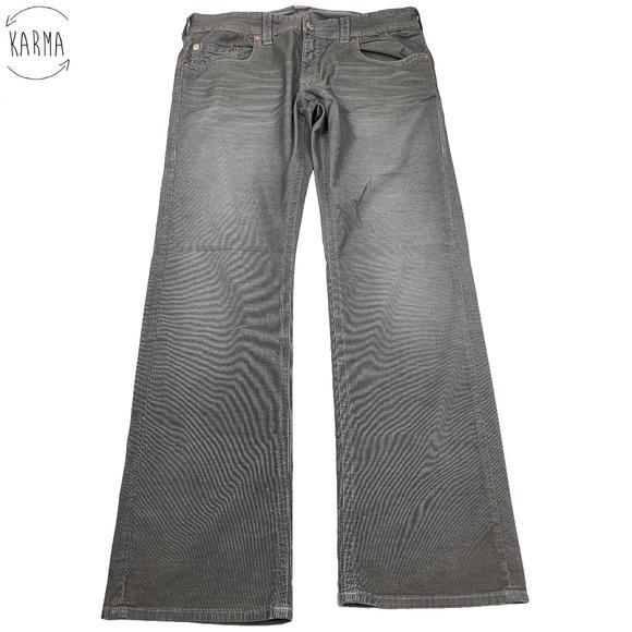 6ed4ef7e0 True Religion Pants   Bobby Straight Corduroy Bm09   Poshmark